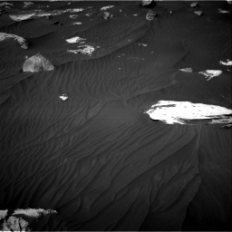 Nasa's Mars rover Curiosity acquired this image using its Right Navigation Camera on Sol 2734, at drive 1204, site number 79