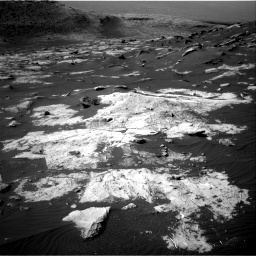 Nasa's Mars rover Curiosity acquired this image using its Right Navigation Camera on Sol 2734, at drive 1210, site number 79
