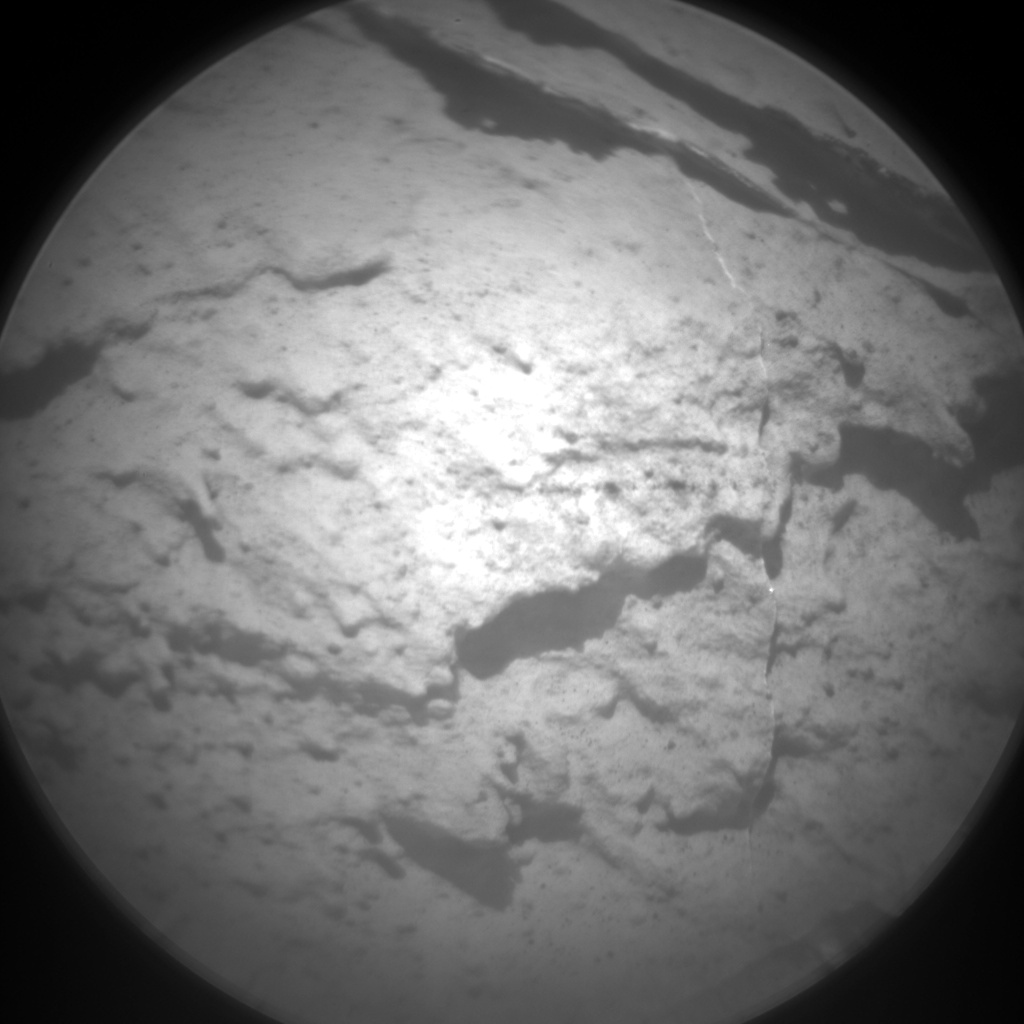 Nasa's Mars rover Curiosity acquired this image using its Chemistry & Camera (ChemCam) on Sol 2735, at drive 1222, site number 79