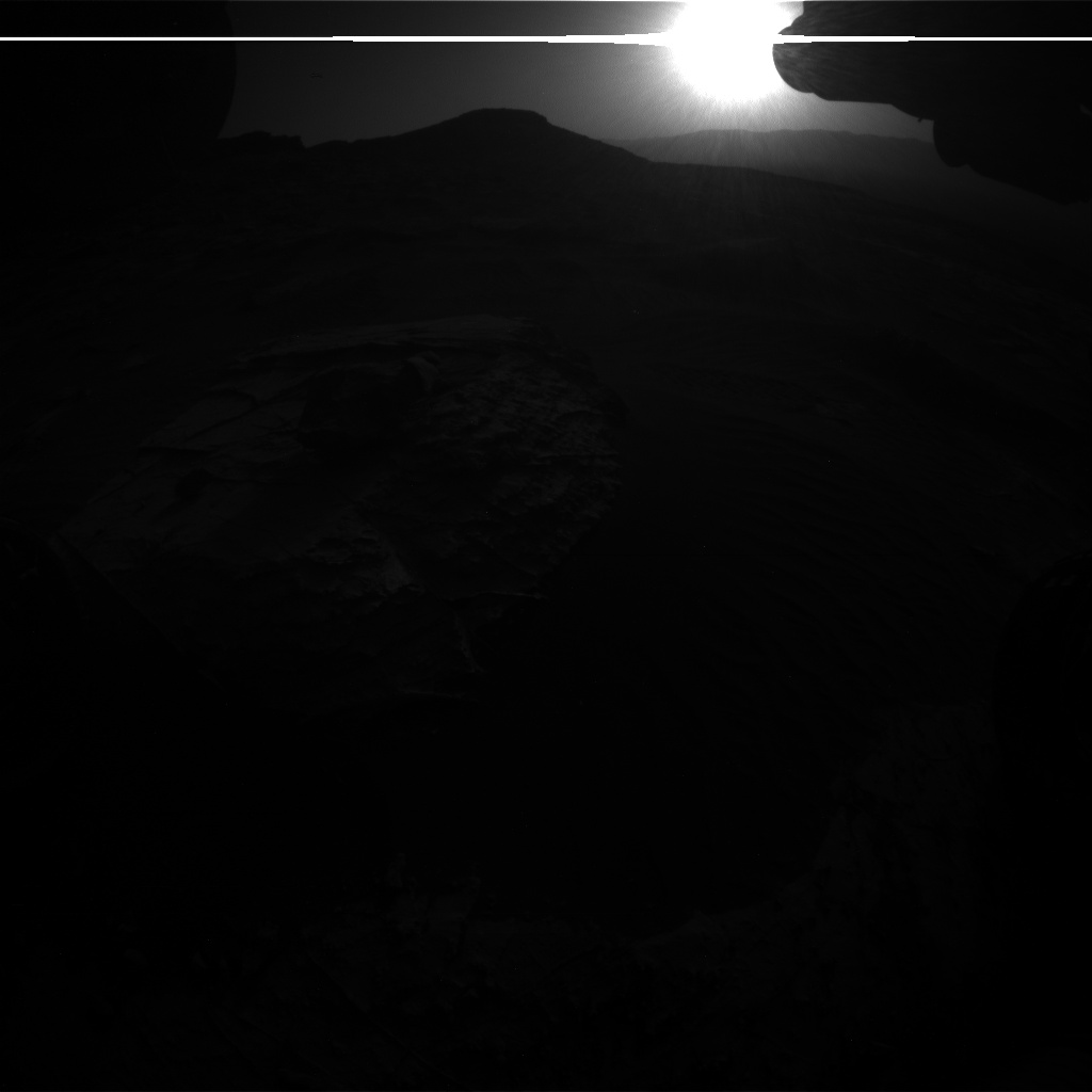 Nasa's Mars rover Curiosity acquired this image using its Front Hazard Avoidance Camera (Front Hazcam) on Sol 2735, at drive 1222, site number 79