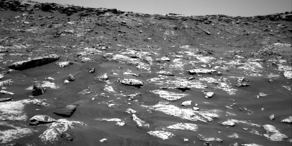 Nasa's Mars rover Curiosity acquired this image using its Right Navigation Camera on Sol 2735, at drive 1222, site number 79