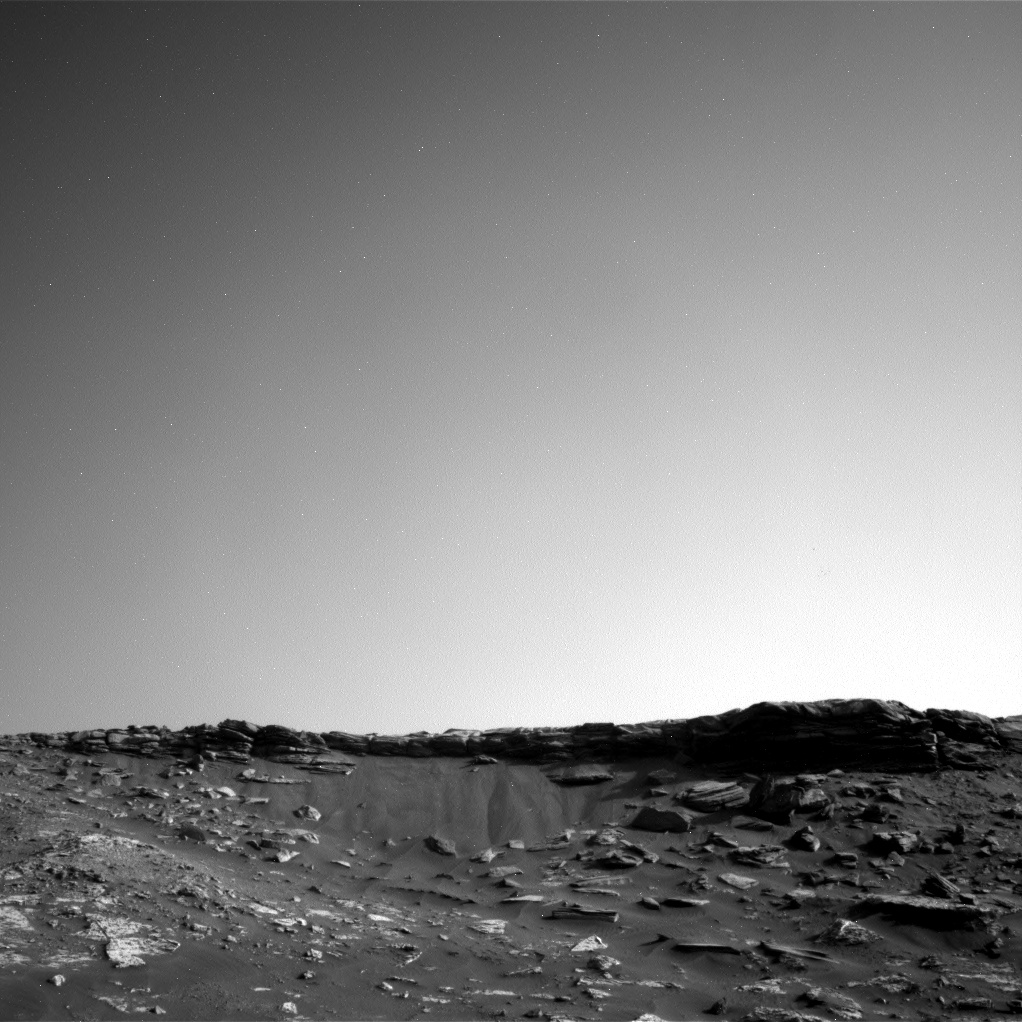 Nasa's Mars rover Curiosity acquired this image using its Right Navigation Camera on Sol 2736, at drive 1222, site number 79