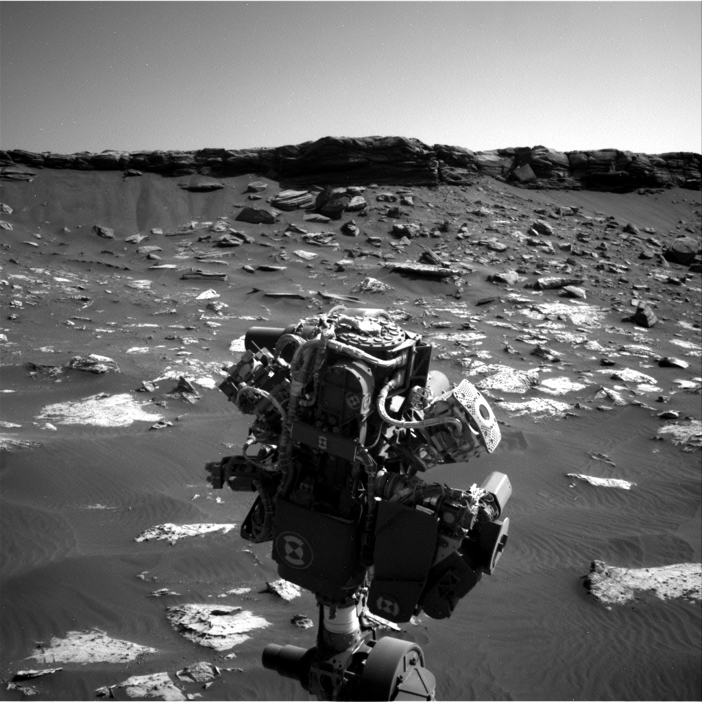 Nasa's Mars rover Curiosity acquired this image using its Right Navigation Camera on Sol 2737, at drive 1222, site number 79