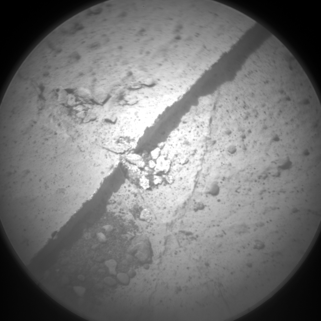 Nasa's Mars rover Curiosity acquired this image using its Chemistry & Camera (ChemCam) on Sol 2738, at drive 1222, site number 79