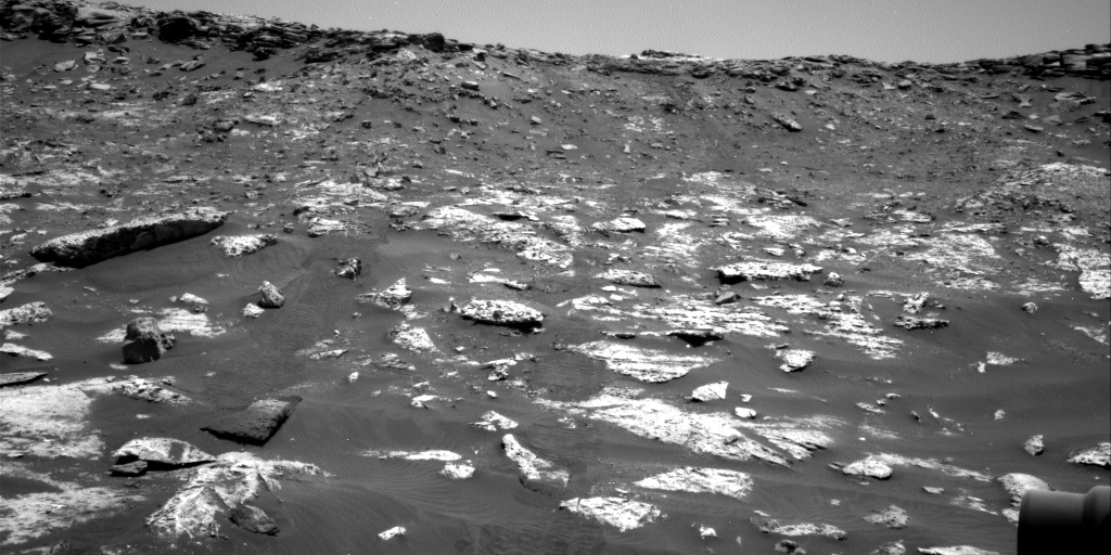 Nasa's Mars rover Curiosity acquired this image using its Right Navigation Camera on Sol 2738, at drive 1222, site number 79