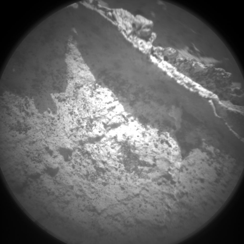 Nasa's Mars rover Curiosity acquired this image using its Chemistry & Camera (ChemCam) on Sol 2740, at drive 1222, site number 79