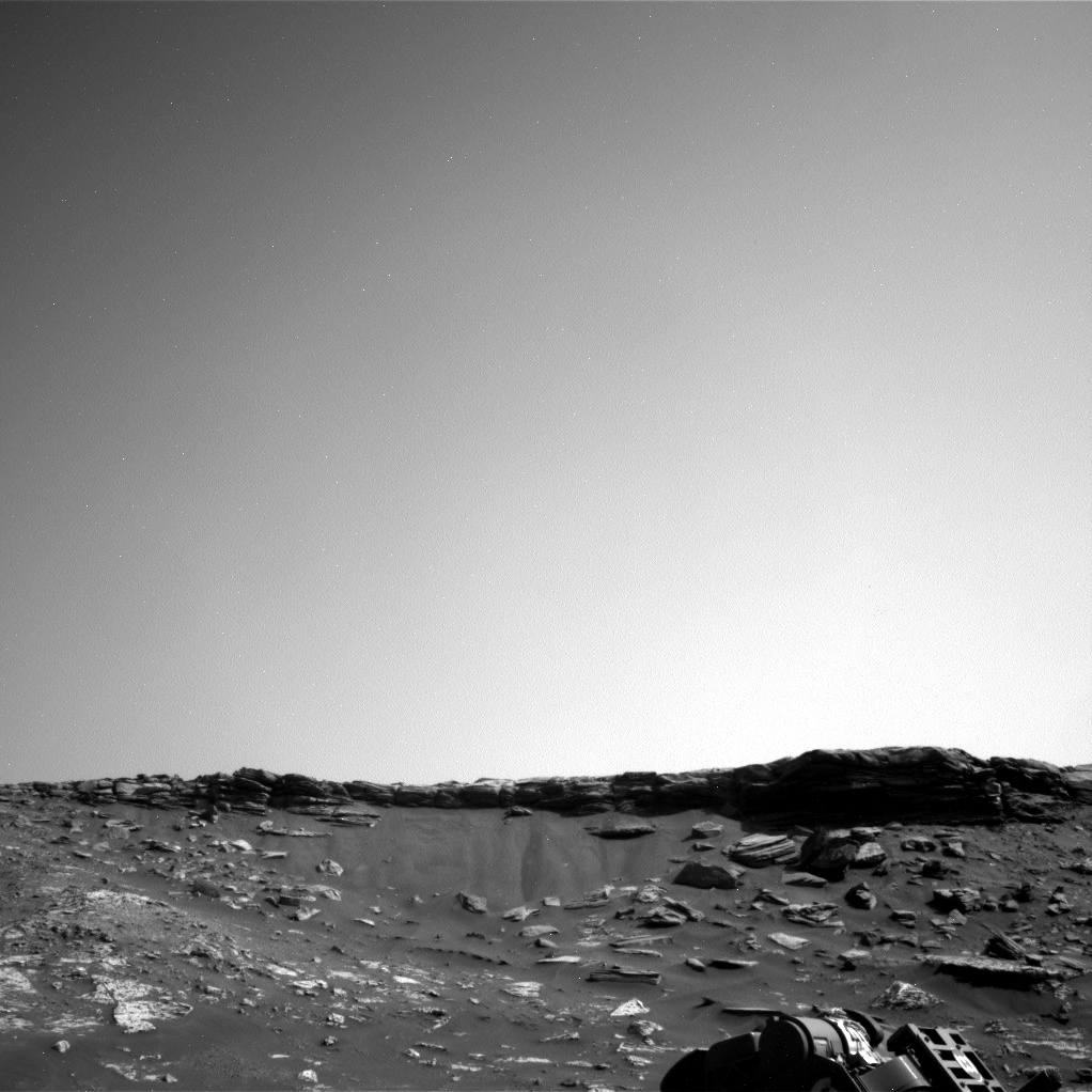 Nasa's Mars rover Curiosity acquired this image using its Right Navigation Camera on Sol 2740, at drive 1222, site number 79