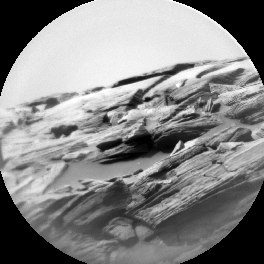 Nasa's Mars rover Curiosity acquired this image using its Chemistry & Camera (ChemCam) on Sol 2741, at drive 1222, site number 79