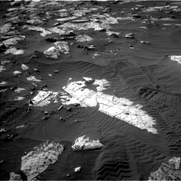 Nasa's Mars rover Curiosity acquired this image using its Left Navigation Camera on Sol 2742, at drive 1246, site number 79