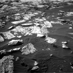Nasa's Mars rover Curiosity acquired this image using its Left Navigation Camera on Sol 2742, at drive 1270, site number 79