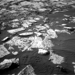 Nasa's Mars rover Curiosity acquired this image using its Left Navigation Camera on Sol 2742, at drive 1276, site number 79