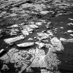 Nasa's Mars rover Curiosity acquired this image using its Left Navigation Camera on Sol 2742, at drive 1282, site number 79