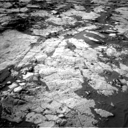 Nasa's Mars rover Curiosity acquired this image using its Left Navigation Camera on Sol 2742, at drive 1336, site number 79