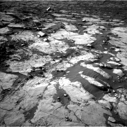 Nasa's Mars rover Curiosity acquired this image using its Left Navigation Camera on Sol 2742, at drive 1348, site number 79