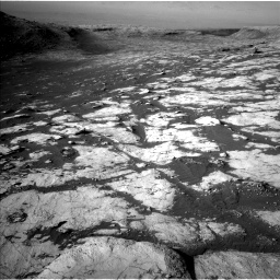Nasa's Mars rover Curiosity acquired this image using its Left Navigation Camera on Sol 2742, at drive 1360, site number 79