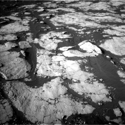 Nasa's Mars rover Curiosity acquired this image using its Left Navigation Camera on Sol 2742, at drive 1384, site number 79