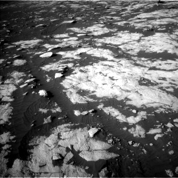 Nasa's Mars rover Curiosity acquired this image using its Left Navigation Camera on Sol 2742, at drive 1402, site number 79