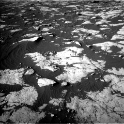 Nasa's Mars rover Curiosity acquired this image using its Left Navigation Camera on Sol 2742, at drive 1438, site number 79