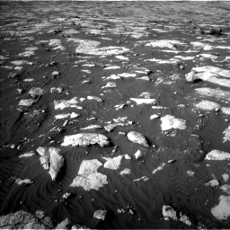 Nasa's Mars rover Curiosity acquired this image using its Left Navigation Camera on Sol 2742, at drive 1468, site number 79
