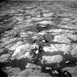 Nasa's Mars rover Curiosity acquired this image using its Left Navigation Camera on Sol 2742, at drive 1570, site number 79
