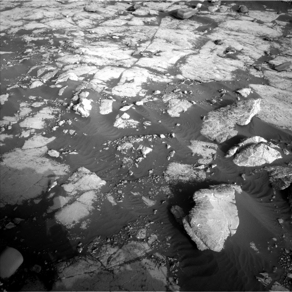 Nasa's Mars rover Curiosity acquired this image using its Left Navigation Camera on Sol 2742, at drive 1630, site number 79