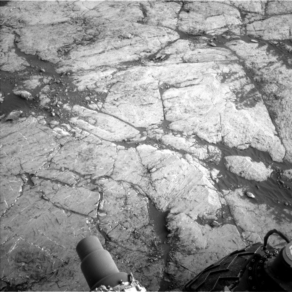 Nasa's Mars rover Curiosity acquired this image using its Left Navigation Camera on Sol 2742, at drive 1670, site number 79