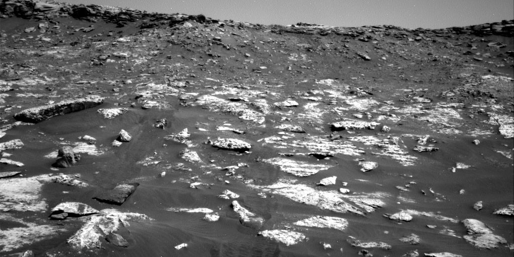Nasa's Mars rover Curiosity acquired this image using its Right Navigation Camera on Sol 2742, at drive 1222, site number 79