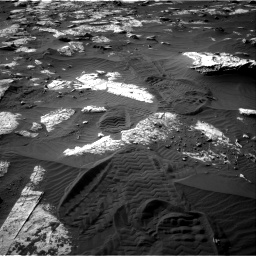 Nasa's Mars rover Curiosity acquired this image using its Right Navigation Camera on Sol 2742, at drive 1234, site number 79