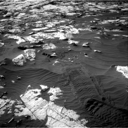 Nasa's Mars rover Curiosity acquired this image using its Right Navigation Camera on Sol 2742, at drive 1252, site number 79