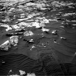 Nasa's Mars rover Curiosity acquired this image using its Right Navigation Camera on Sol 2742, at drive 1258, site number 79