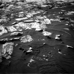 Nasa's Mars rover Curiosity acquired this image using its Right Navigation Camera on Sol 2742, at drive 1264, site number 79
