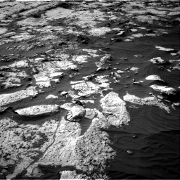 Nasa's Mars rover Curiosity acquired this image using its Right Navigation Camera on Sol 2742, at drive 1282, site number 79