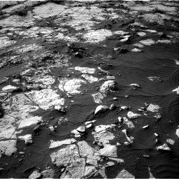 Nasa's Mars rover Curiosity acquired this image using its Right Navigation Camera on Sol 2742, at drive 1294, site number 79