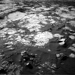 Nasa's Mars rover Curiosity acquired this image using its Right Navigation Camera on Sol 2742, at drive 1312, site number 79