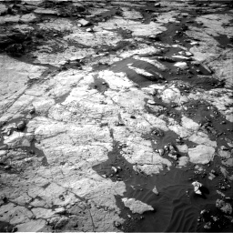 Nasa's Mars rover Curiosity acquired this image using its Right Navigation Camera on Sol 2742, at drive 1336, site number 79