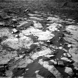 Nasa's Mars rover Curiosity acquired this image using its Right Navigation Camera on Sol 2742, at drive 1354, site number 79