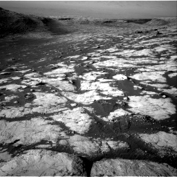 Nasa's Mars rover Curiosity acquired this image using its Right Navigation Camera on Sol 2742, at drive 1360, site number 79