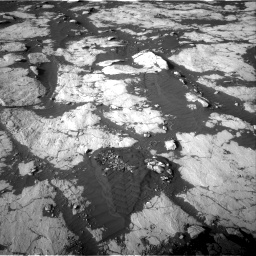 Nasa's Mars rover Curiosity acquired this image using its Right Navigation Camera on Sol 2742, at drive 1378, site number 79