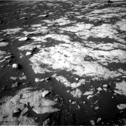 Nasa's Mars rover Curiosity acquired this image using its Right Navigation Camera on Sol 2742, at drive 1402, site number 79