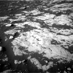 Nasa's Mars rover Curiosity acquired this image using its Right Navigation Camera on Sol 2742, at drive 1408, site number 79
