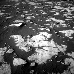 Nasa's Mars rover Curiosity acquired this image using its Right Navigation Camera on Sol 2742, at drive 1444, site number 79