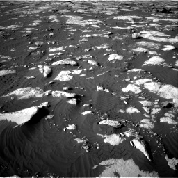Nasa's Mars rover Curiosity acquired this image using its Right Navigation Camera on Sol 2742, at drive 1456, site number 79