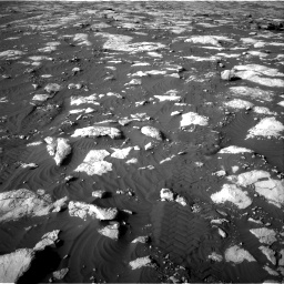 Nasa's Mars rover Curiosity acquired this image using its Right Navigation Camera on Sol 2742, at drive 1462, site number 79