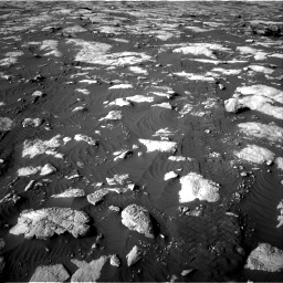 Nasa's Mars rover Curiosity acquired this image using its Right Navigation Camera on Sol 2742, at drive 1474, site number 79