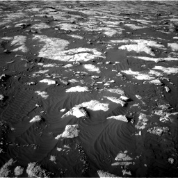 Nasa's Mars rover Curiosity acquired this image using its Right Navigation Camera on Sol 2742, at drive 1486, site number 79