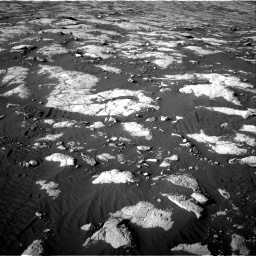Nasa's Mars rover Curiosity acquired this image using its Right Navigation Camera on Sol 2742, at drive 1492, site number 79