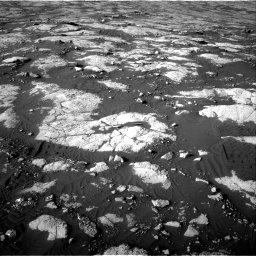 Nasa's Mars rover Curiosity acquired this image using its Right Navigation Camera on Sol 2742, at drive 1498, site number 79