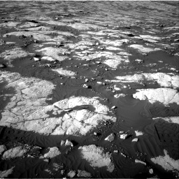Nasa's Mars rover Curiosity acquired this image using its Right Navigation Camera on Sol 2742, at drive 1504, site number 79