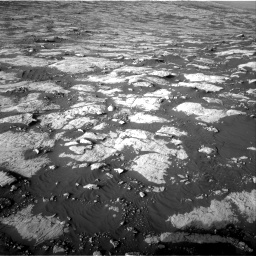 Nasa's Mars rover Curiosity acquired this image using its Right Navigation Camera on Sol 2742, at drive 1522, site number 79