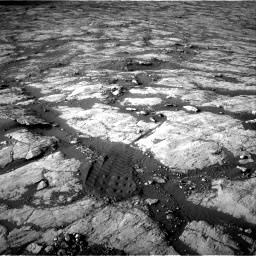 Nasa's Mars rover Curiosity acquired this image using its Right Navigation Camera on Sol 2742, at drive 1552, site number 79